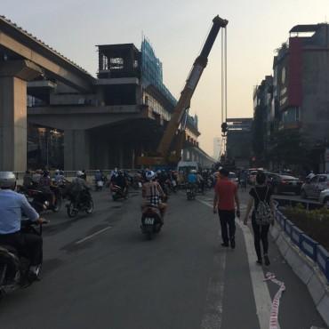 Phạt nóng nhà thầu thi công đường sắt Cát Linh - Hà Đông