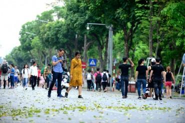 Kéo dài thời gian hoạt động của phố đi bộ hồ Gươm