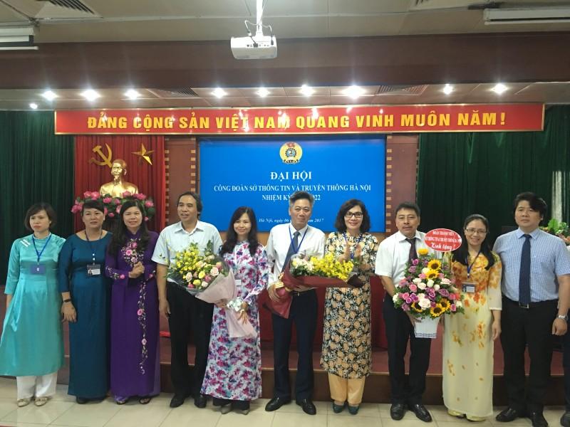 Sở TT&TT tổ chức thành công Đại hội công đoàn nhiệm kỳ 2017 - 2022