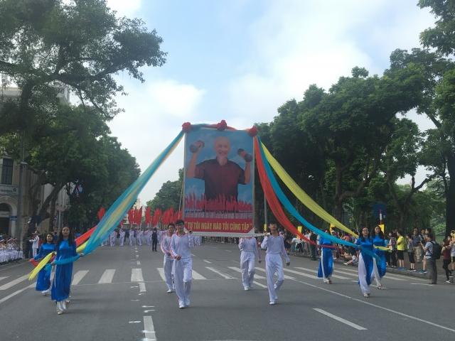 Hơn 2000 vận động viên tham dự Đại hội thể thao quận Hoàn Kiếm