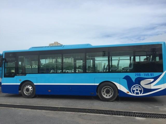 Transerco thay thế phương tiện mới trên 3 tuyến buýt