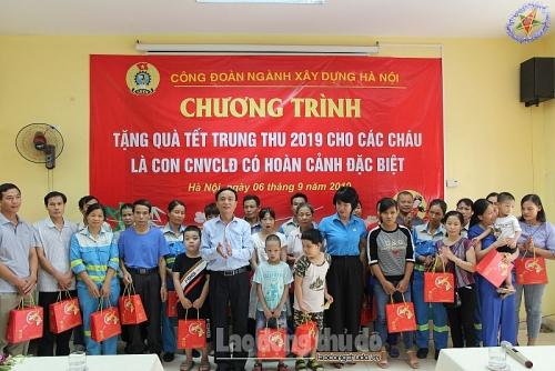 Đầm ấm Tết Trung thu con em ngành xây dựng Hà Nội
