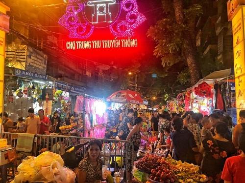 Rực rỡ sắc mầu lễ hội Trung thu phố cổ Hà Nộ