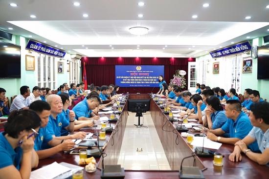 Công đoàn công ty TNHH MTV Thoát nước Hà Nội chăm lo người lao động