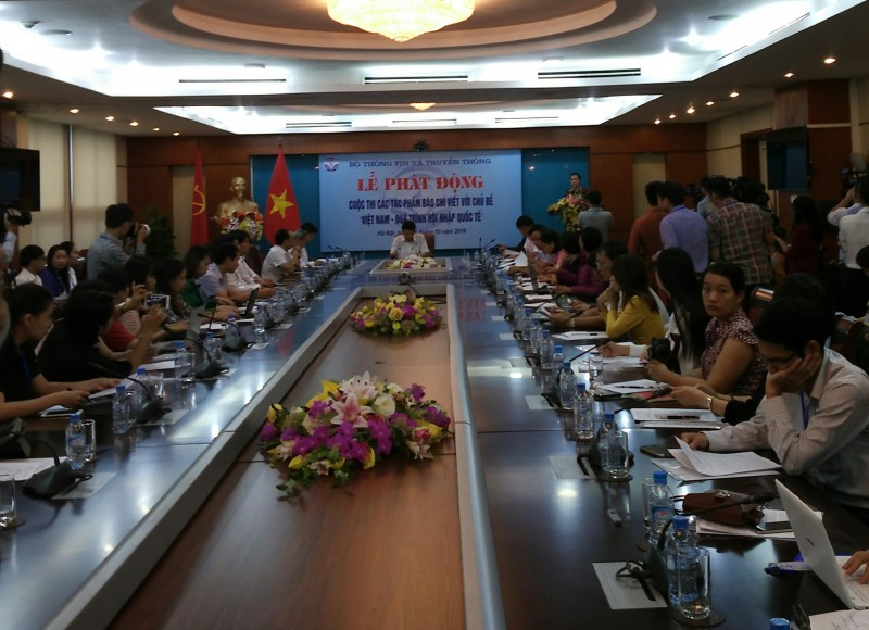 Phát động cuộc thi 'Việt Nam – Quá trình hội nhập quốc tế'