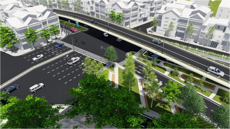 Điều chỉnh giao thông phục vụ thi công nút giao An Dương-Thanh Niên