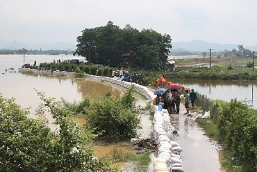 Hà Nội đầu tư gần 40 tỷ đồng chống sạt lở sông Bùi