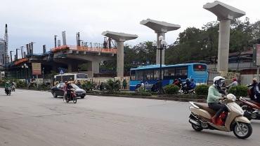 Tổ chức lại giao thông phục vụ tuyến đường sắt Nhổn - Ga Hà Nội
