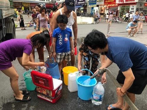 Nhiều khu vực sẽ tạm ngừng cấp nước để xúc xả đường ống nước sông Đà