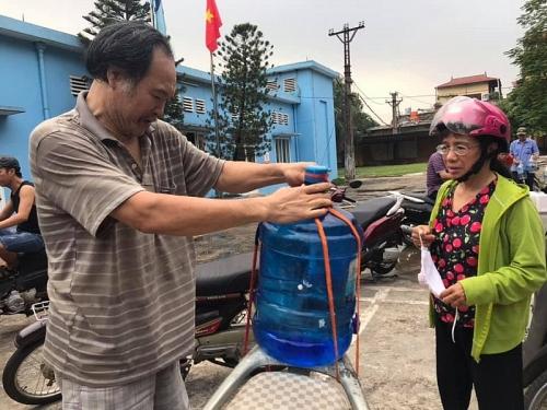 Hà Nội: Nhà máy nước sông Đà đã cấp nước trở lại
