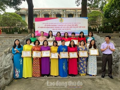 Nhiều hoạt động kỷ niệm 89 năm ngày phụ nữ Việt Nam