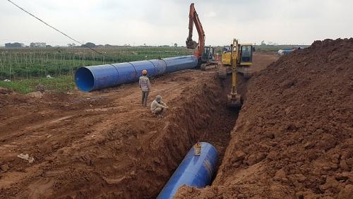 Hà Nội: Đẩy nhanh tiến độ xây dựng các dự án nhà máy nước sạch