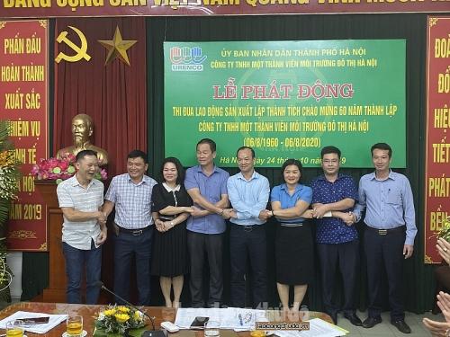 URENCO Hà Nội phát động thi đua chào mừng 60 năm ngày thành lập