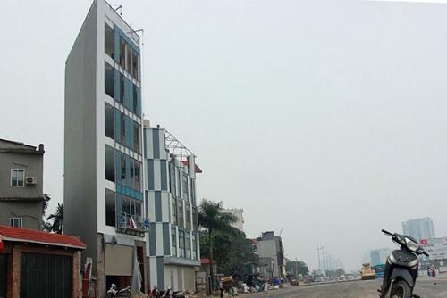 Hà Nội: Quyết liệt hơn nữa với những công trình nhà siêu mỏng, siêu méo