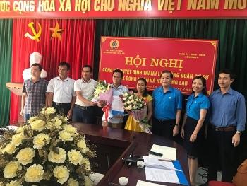 Ra mắt hai công đoàn cơ sở Hợp tác xã nông nghiệp Đông Lao và Đồng Nhân