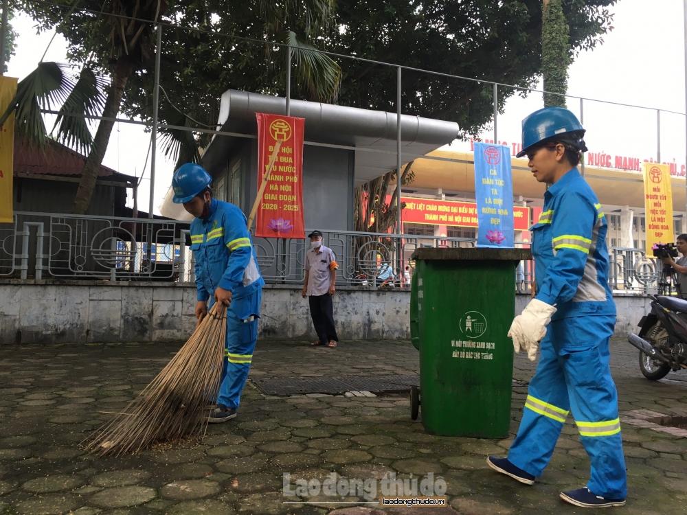 Hà Nội: Tổng vệ sinh môi trường thành phố, chào mừng các ngày kỷ niệm lớn