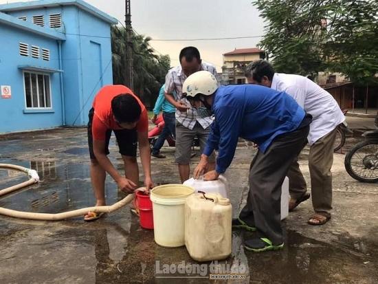Hà Nội: Tạm ngừng cấp nước sạch sông Đà đến 18 giờ ngày 13/10