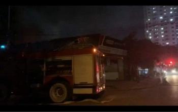 Hà Nội: Kịp thời khống chế đám cháy tại một kho xưởng ở Thanh Trì