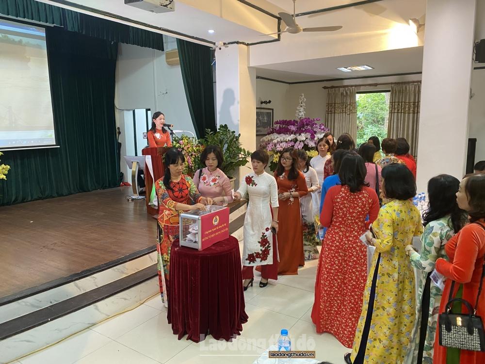 Công đoàn ngành Xây dựng: Nhiều hoạt động kỷ niệm Ngày thành lập Hội Liên hiệp phụ nữ Việt Nam