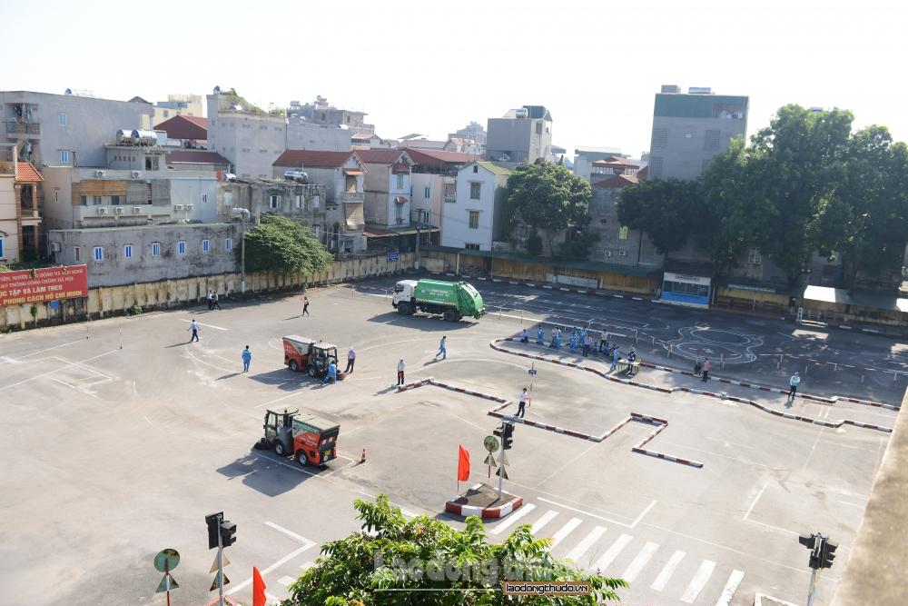 Sôi nổi Hội thi lái xe giỏi và an toàn URENCO Hà Nội năm 2020