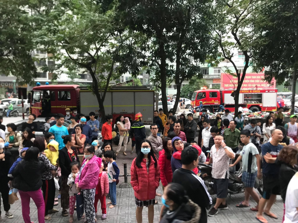 Hà Nội: Điều tra, làm rõ vụ cháy tại chung cư HH Linh Đàm