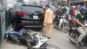 Xe 'điên' gây tai nạn liên hoàn trên đường Trường Chinh
