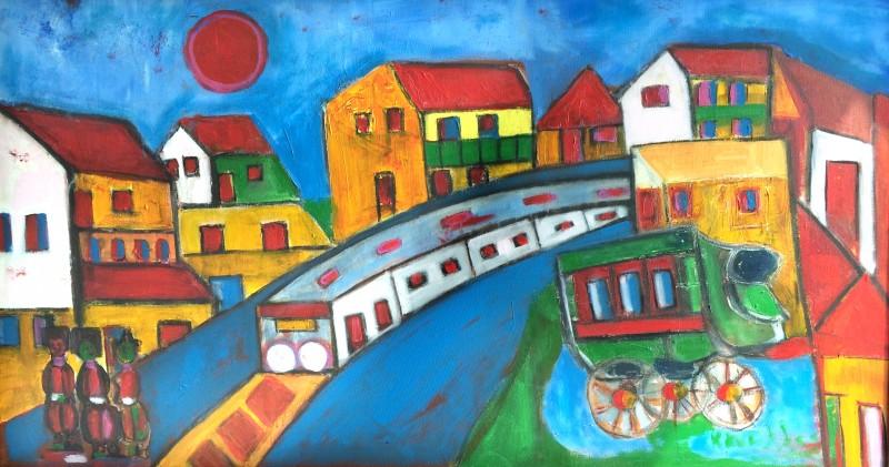'Ký ức Hà Nội' tái hiện qua 34 tác phẩm hội họa