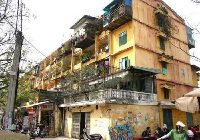 Hơn 20 đơn vị được giao lập quy hoạch chung cư cũ Hà Nội