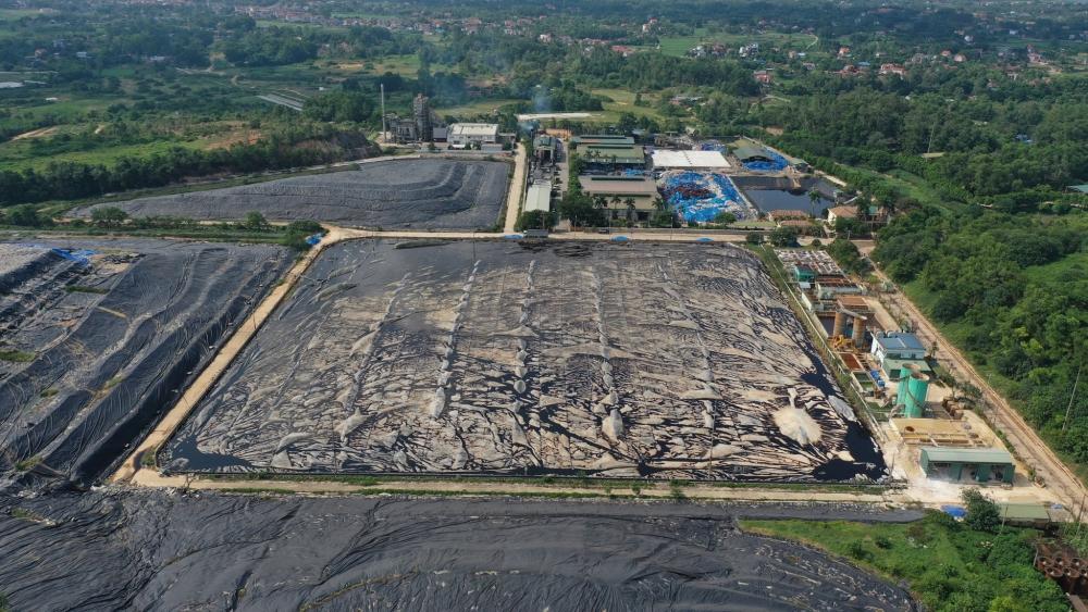 Khắc phục nhiều tồn tại trong khu Liên hợp xử lý chất thải Sóc Sơn