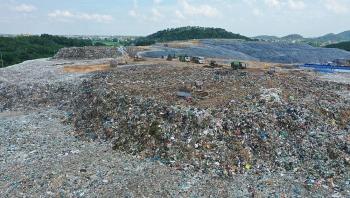 Khắc phục mùi hôi thối gây ô nhiễm tại khu xử lý rác Sóc Sơn