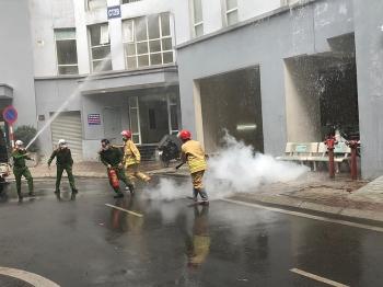 Hà Nội: Chủ động phương án xử lý cháy nổ tại khu tái định cư