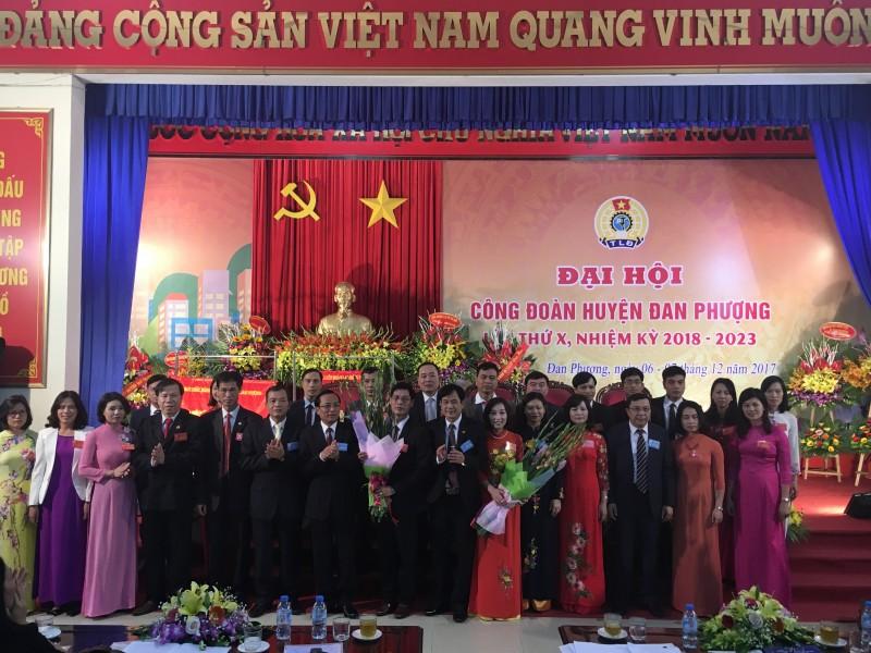 dai hoi cong doan huyen dan phuong lan thu x nhiem ky 2018 2023