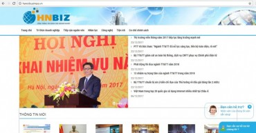 Hà Nội hoàn thiện cổng thông tin doanh nghiệp