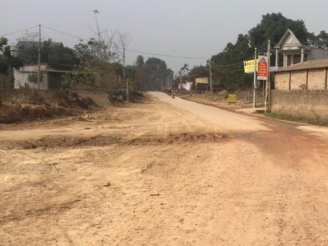 Điều chỉnh một số hạng mục dự án cải tạo tỉnh lộ 411