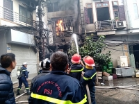Cháy lớn tại quán karaoke, nhiều tài sản bị thiêu rụi