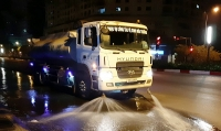 Hà Nội: Triển khai lại công tác rửa đường tại một số tuyến phố chính