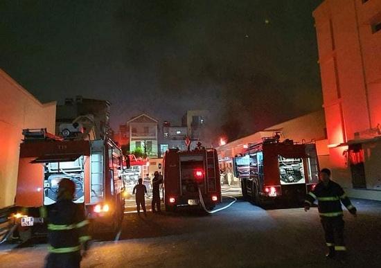 Hà Nội: Kịp thời khống chế đám cháy tại Công ty cổ phần Dược phẩm Hà Tây