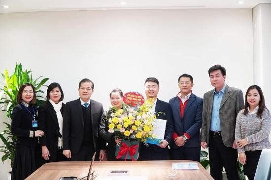 Thành lập mới Công đoàn Cơ sở Công ty Cổ phần Toyota IDMC Hoài Đức