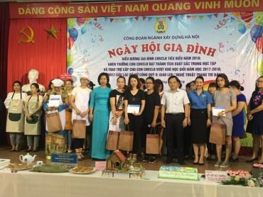 Công đoàn Ngành xây dựng Hà Nội tổ chức Ngày hội Gia đình 2018