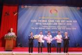Trao giải cuộc thi Nhà sáng tạo Việt Nam với Intel Galileo lần thứ II