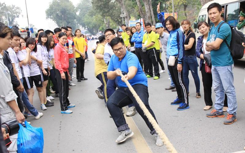 Hơn 800 vận động viên trẻ Thủ đô hào hứng tranh tài