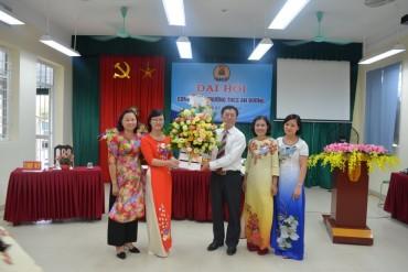 Tổ chức thành công đại hội công đoàn trường THCS An Dương