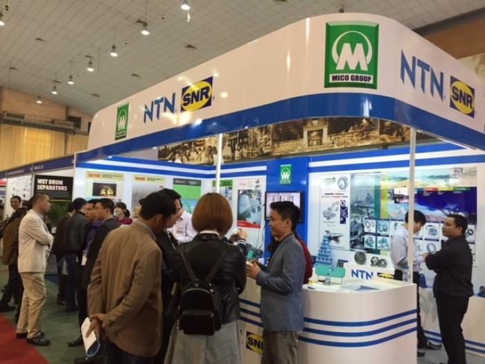 Mining Vietnam 2016 thu hút sự quan tâm của đông đảo người trong và ngoài giới.
