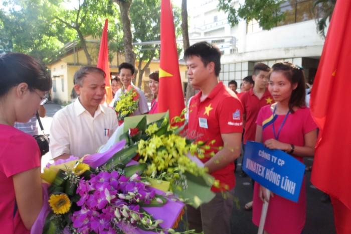 Sôi nổi Hội thi thợ giỏi ngành dệt may Việt Nam
