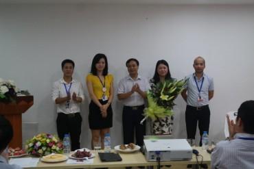Người lao động Công ty Trans-Cosmos Việt Nam thành lập CĐCS