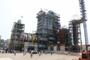 Nổi lửa Nhà máy xử lý rác thành điện lớn nhất Việt Nam