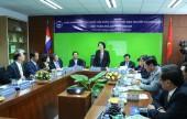 Đoàn đại biểu Quốc hội Việt Nam thăm nhà máy sữa Angkor