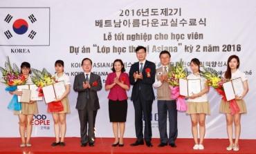 Hơn 100 học viên hoàn thành Lớp học thú vị ASIANA