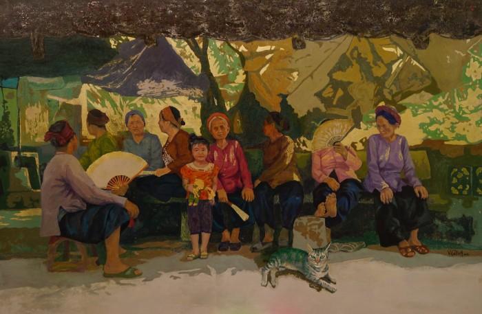Triển lãm giao lưu nghệ thuật sơn mài Việt Nam - Hàn Quốc