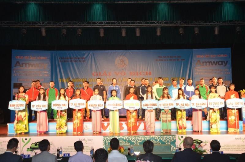 80 vận động viên tham gia  Giải vô địch Thể dục Thể hình Quốc gia lần thứ 19